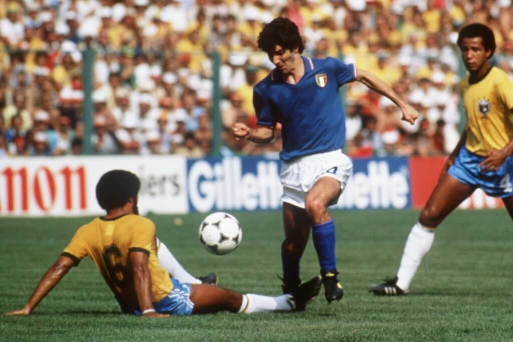 Paolo Rossi Italy 1982
